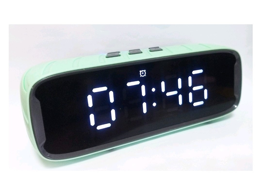 Euroline Часы с радио, USB, SD, Bluetooth, FM, будильник clock-8 большой LED экран
