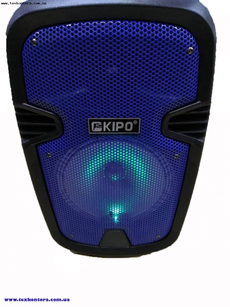 KIPO Колонка автономна Bluetooth, USB, FM KB-Q5