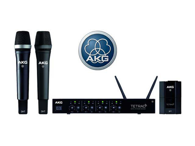 AKG Радиосистема микрофонная AKG DMS Tetrad Vocal D5