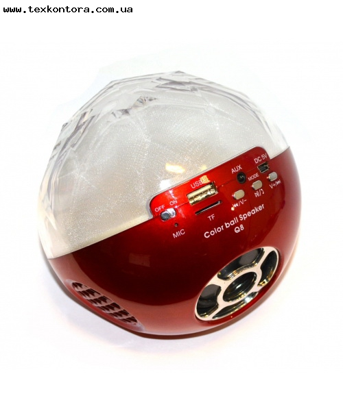 Atlanfa Мобільна акустика USB Color Ball Q8 Bluetooth