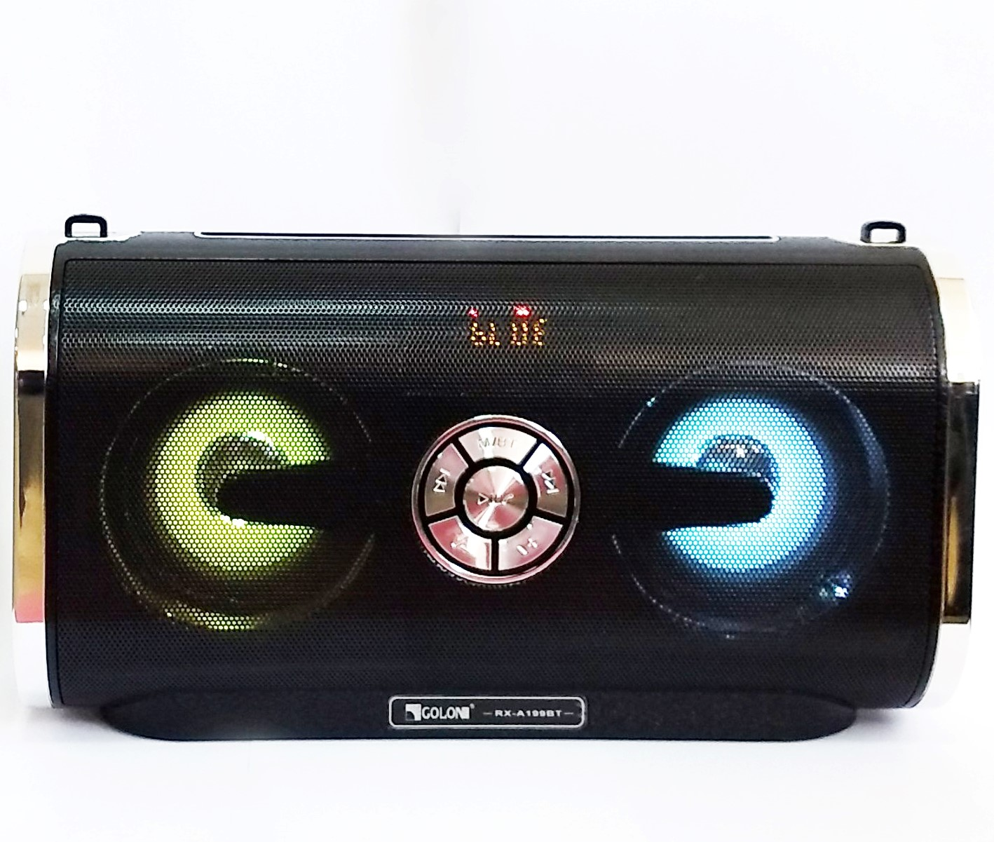 Golon Радиоприемник Golon RX-A199BT Bluetooth, FM, Led светомузыка, SuperBass