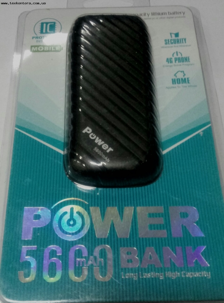 POWER BANK Пауэрбанк. POWER BANK 5600mAh в блистере