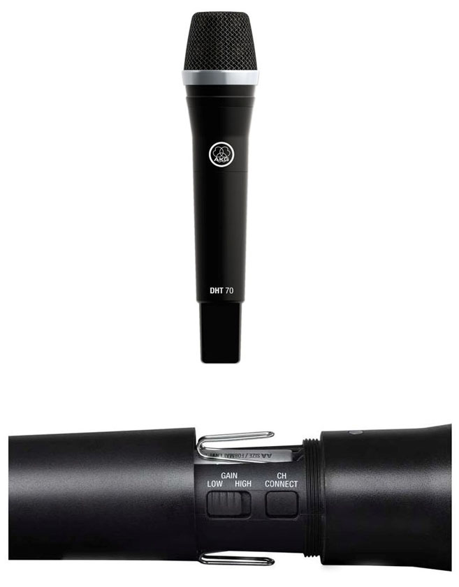 AKG Радиомикрофон DMS70 QR VOCAL / INSTRUMENTAL SET DUAL. Купить в Киеве