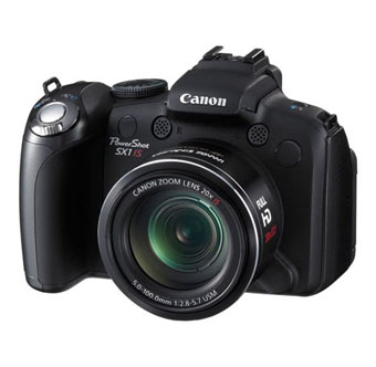 Canon Цифровой фотоаппарат PowerShot SX1 IS