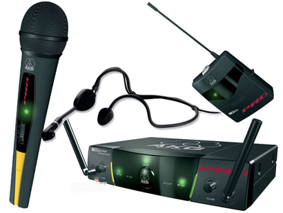 AKG Микрофонная радиосистема WMS 40 PRO Presenter Set DUAL
