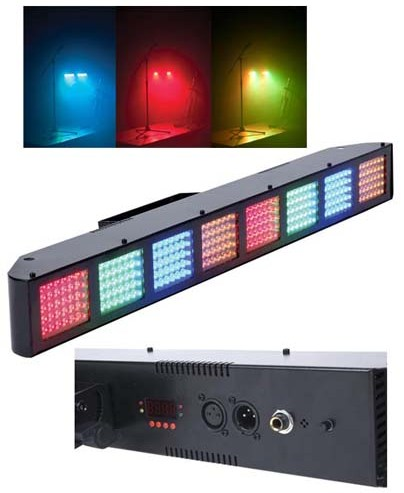 American Audio Светомузыка LED панель Color Burst 8 DMX