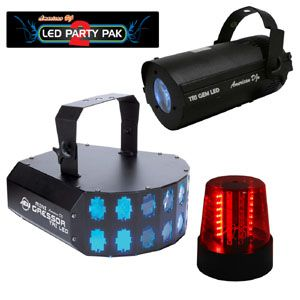 American Audio Светомузыка LED Party Pak 2