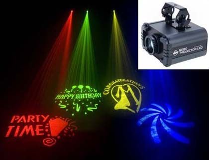 American Audio Gobo projector LED