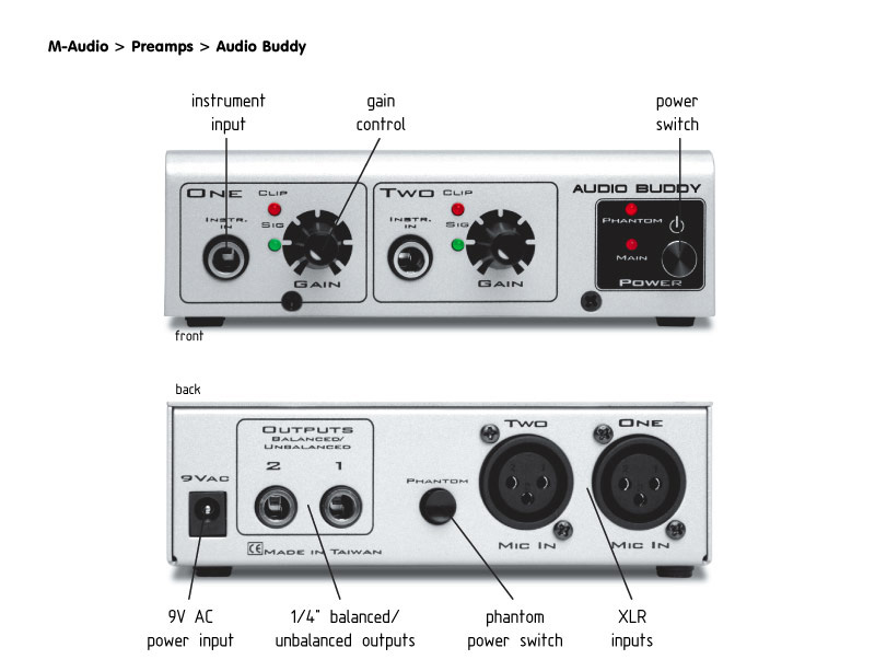 M-AUDIO Audio Buddy