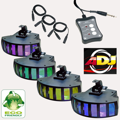 American Audio Светомузыка Saturn Tri LED SYS. Купить в Киеве