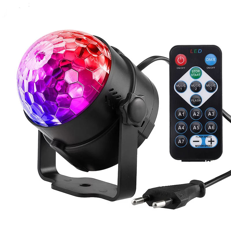 Color Imagination Диско лампа RGB Ball KTV